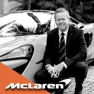 Andy Thomas from McLaren Automotive